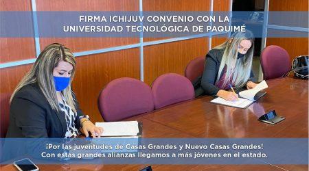 Firma ICHIJUV Convenio con la Universidad Tecnológica de Paquimé