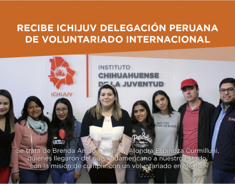 RECIBE ICHIJUV DELEGACIÓN PERUANA DE VOLUNTARIADO INTERNACIONAL