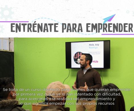 "Arranca Estado capacitación de emprendedores jóvenes a través del taller ""Entrénate para Emprender"""